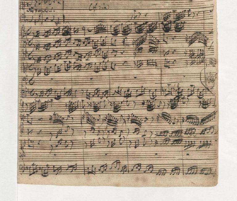 BWV 90. №3 Aria B (page 1)