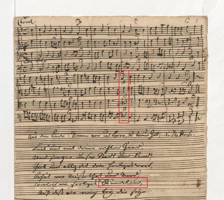 BWV 90. №5 Chorale