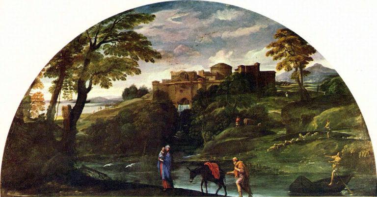 Бегство в Египет. 1603-1604