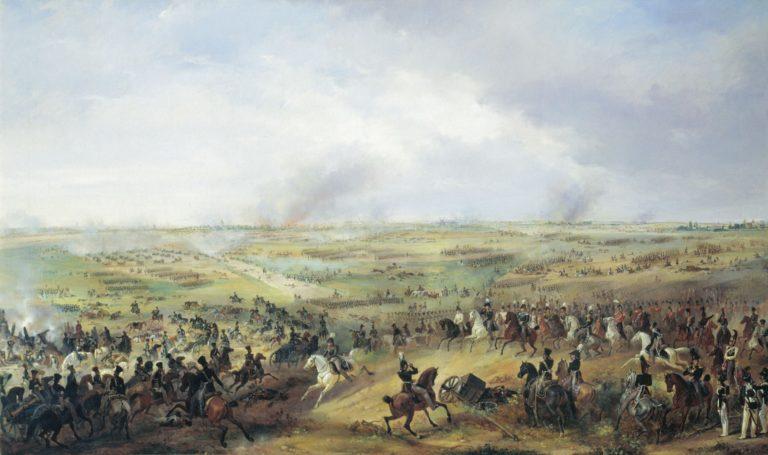 Битва под Лейпцигом 16-19 октября 1813 года. 1817-1844