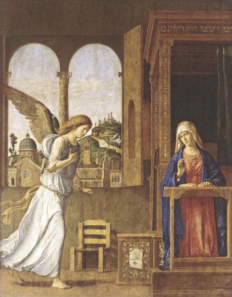 Благовещение. 1495