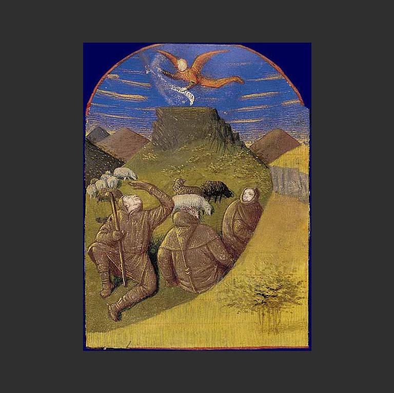 Благовестие пастухам. 1417