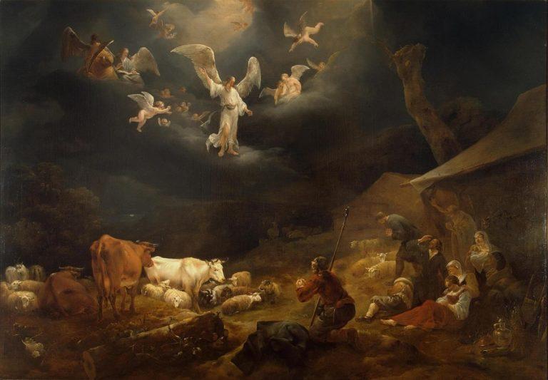 Благовестие пастухам. 1649