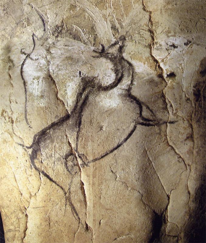 Большерогий олень. 32-33 тыс. лет до н.э.