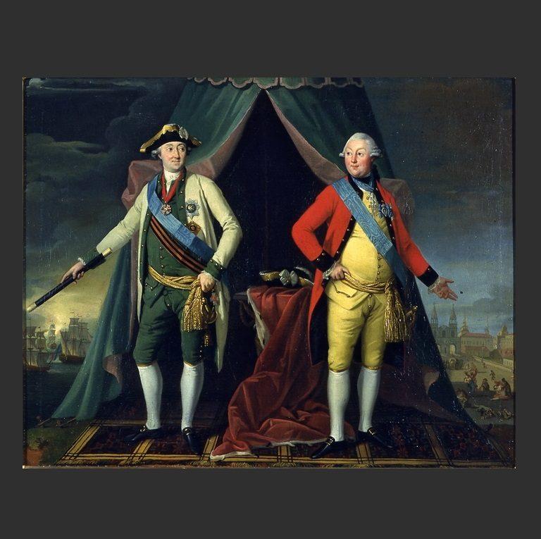 Братья Орловы – Григорий и Алексей. 1770-е гг.