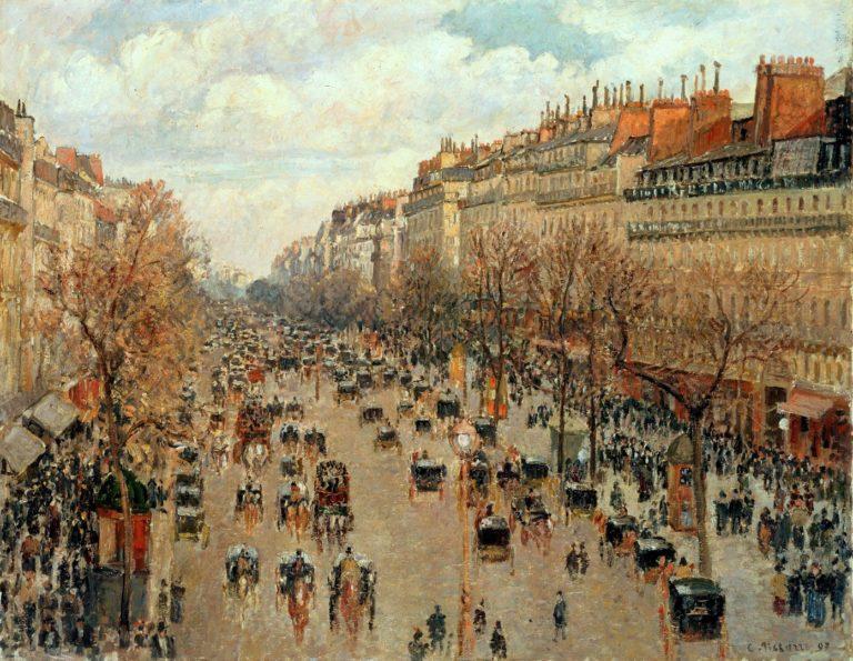 Бульвар Монмартр. 1898