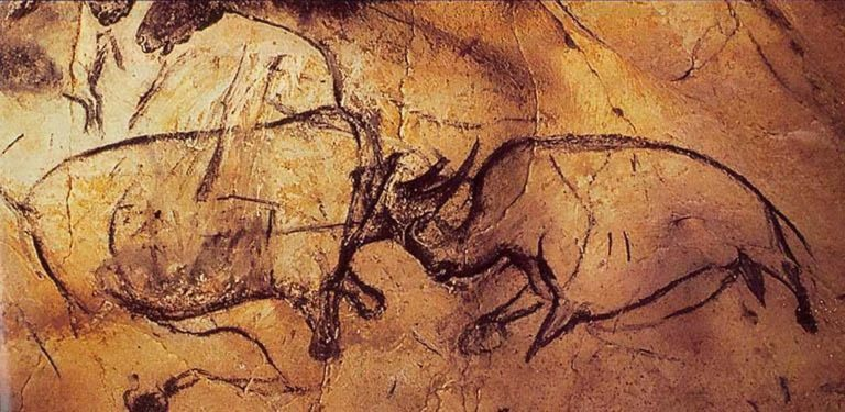 Черные носороги. 32-33 тыс. лет до н.э.