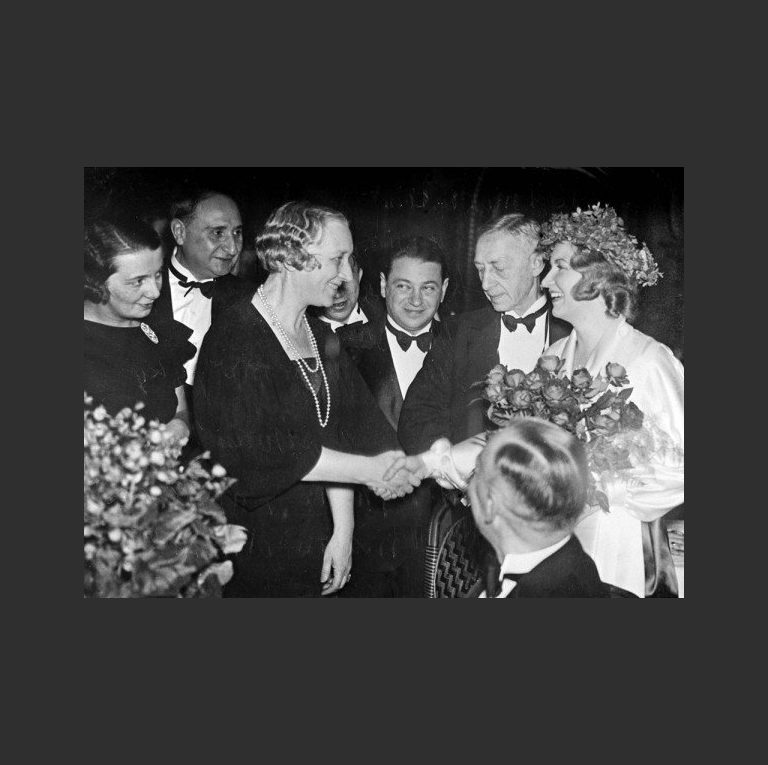 Чествование Ивана Бунина после вручения Нобелевской премии. Стокгольм, декабрь 1933