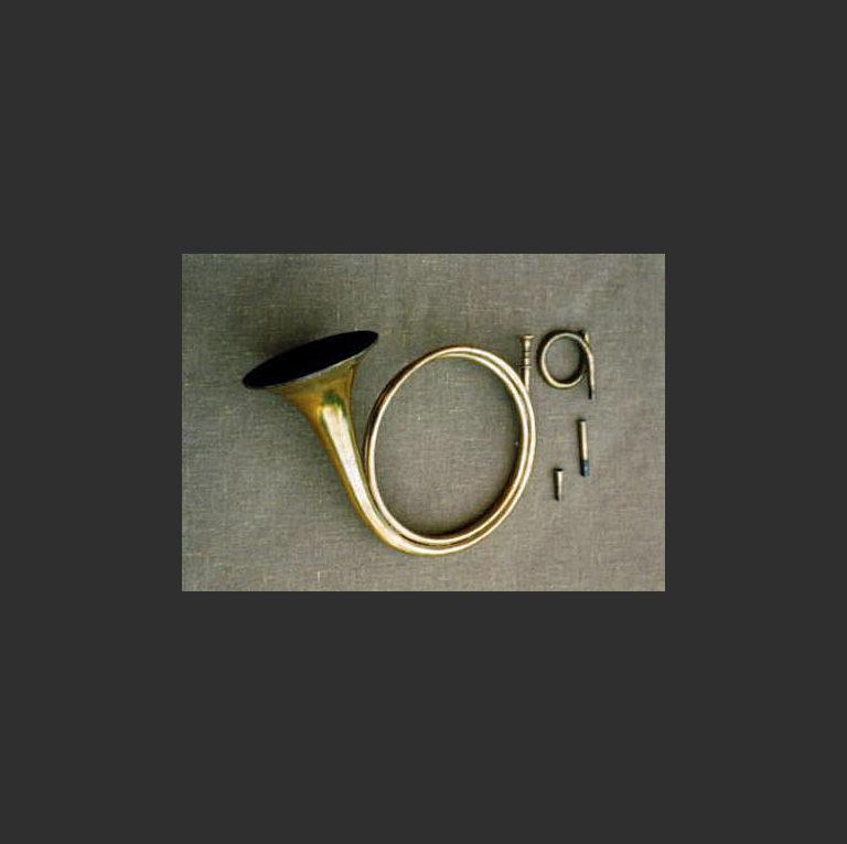 Corno da caccia. Оригинальный инструмент, около 1730 года