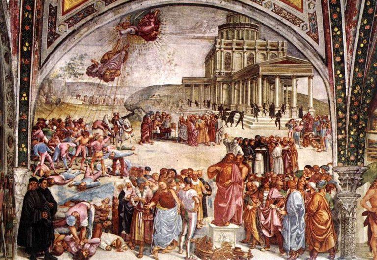 Дела Антихриста. 1499-1502