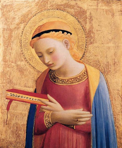 Дева Мария. Благовещение. 1431-1433