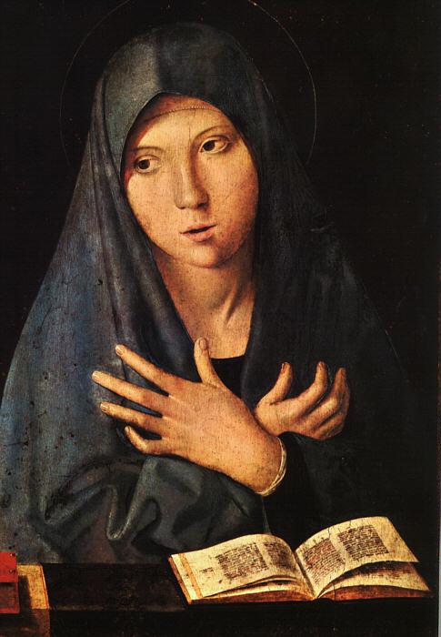 Дева Мария. XV в.