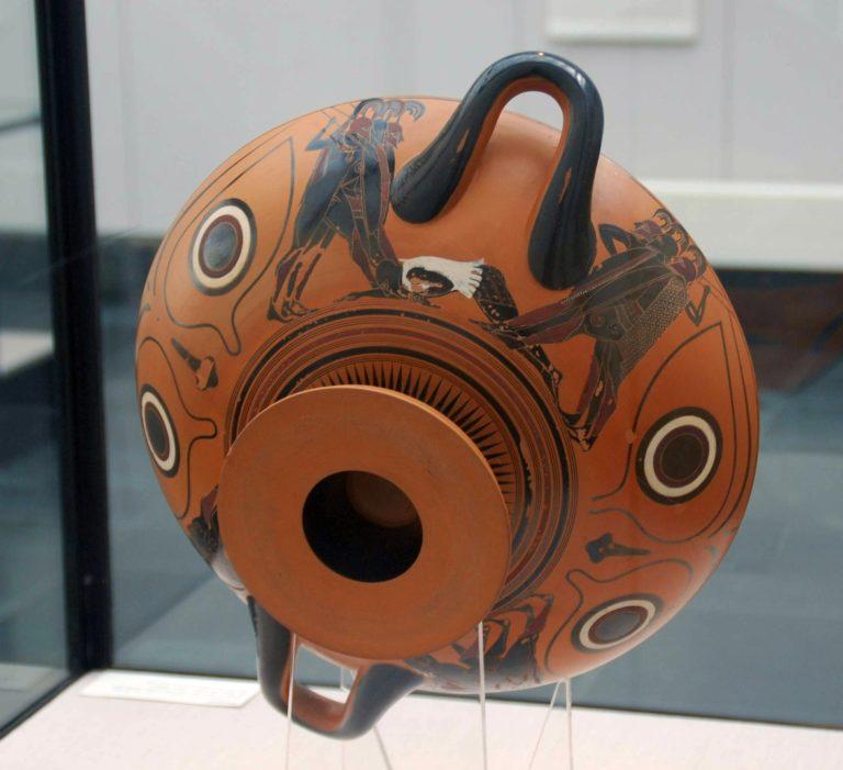 «Дионис в ладье» или «Чаша с глазами». 540 – 530 гг. до н.э.