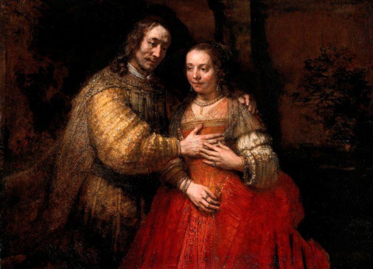 Еврейская невеста. 1667
