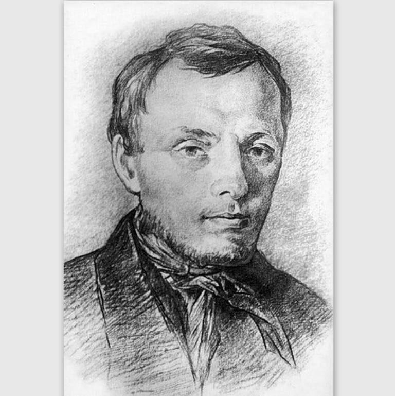 Фёдор Михайлович Достоевский (1821 —1881) в 26 лет. 1847