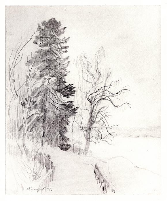Февральский снег. 1978
