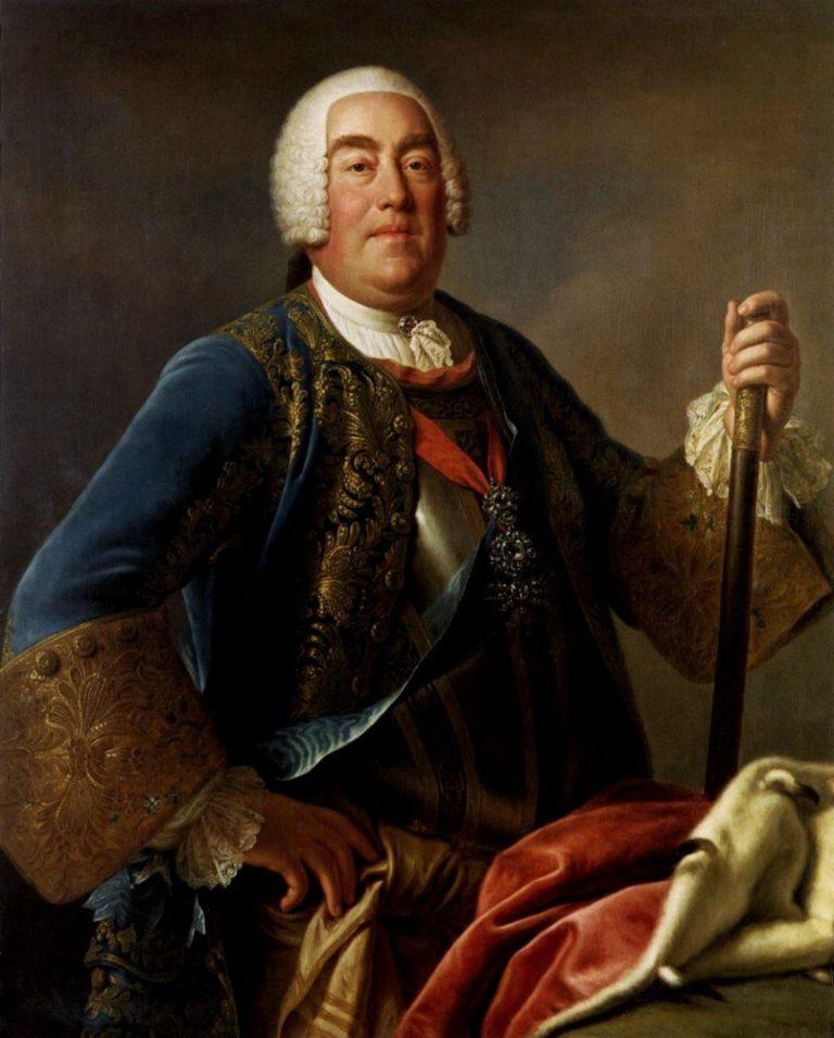 Фридрих Август Саксонец (польск. August III Sas, 1696-1763). 1755