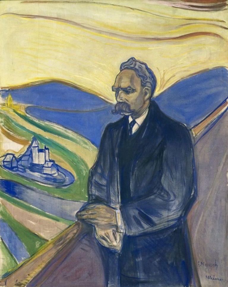 Фридрих Вильгельм Ницше (нем. Friedrich Wilhelm Nietzsch, 1844—1900). 1906