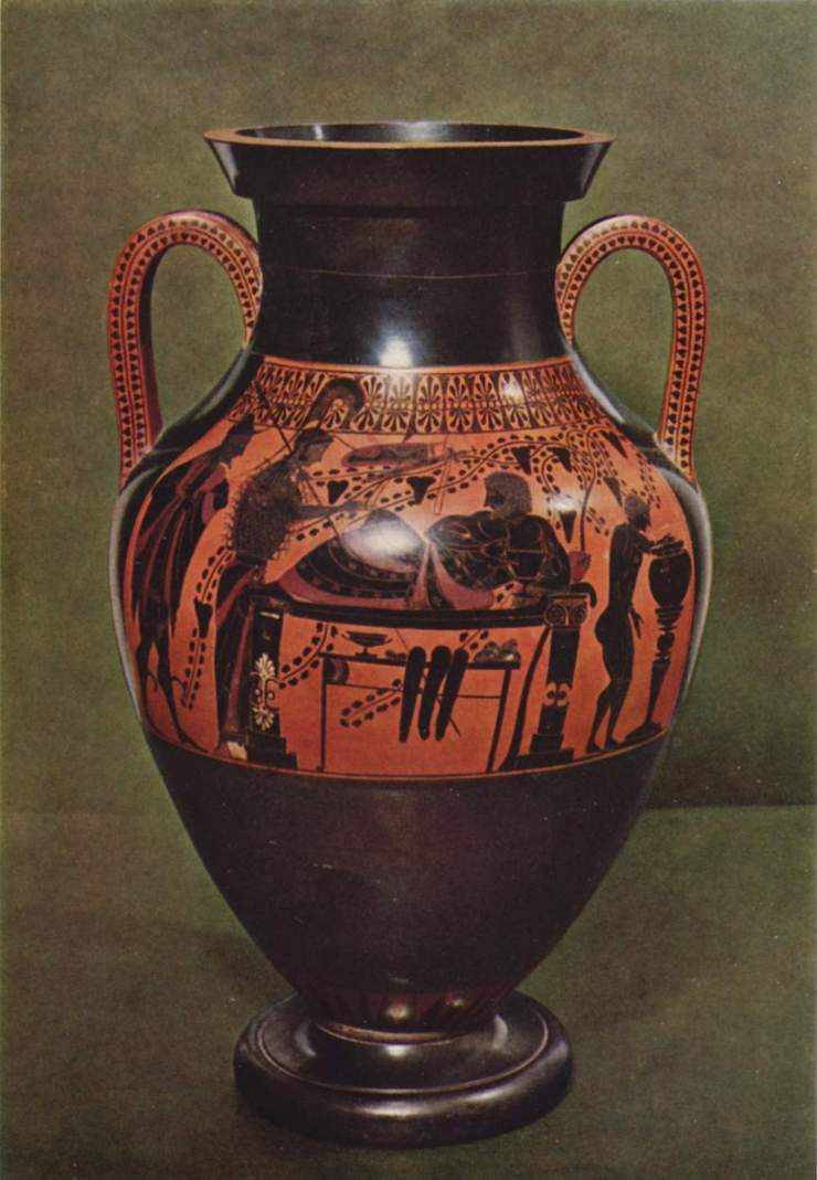 Геракл и Афина. 520 - 510 гг. до н.э.