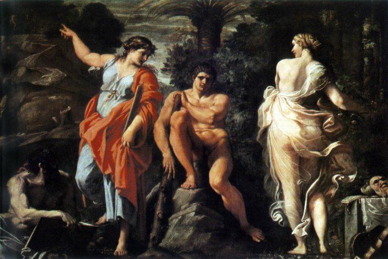 Геракл на распутье. 1596