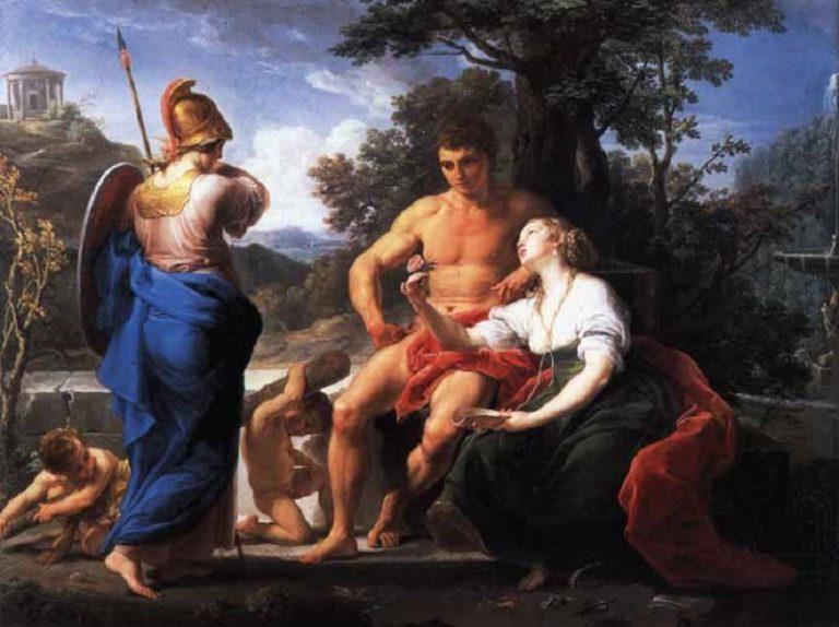 Геркулес на распутье между Добродетелью и Пороком. 1742