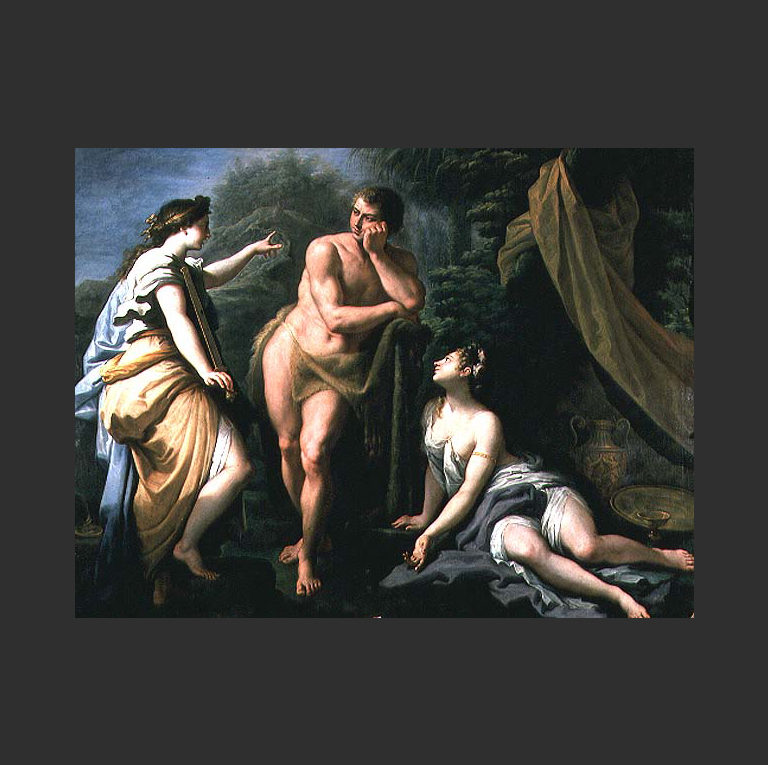 Геркулес на распутье. 1712