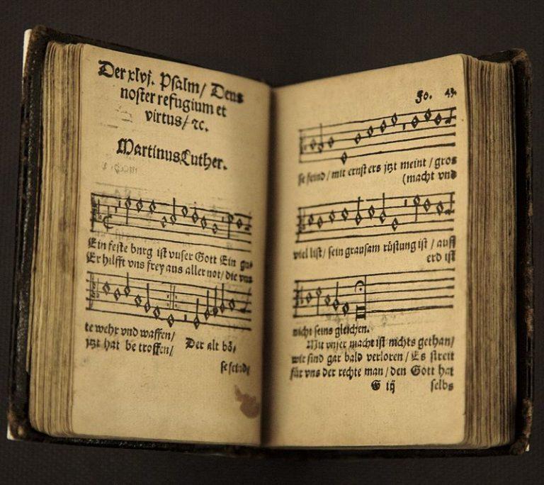 Гимн Мартина Лютера «Ein' feste Burg ist unser Gott»