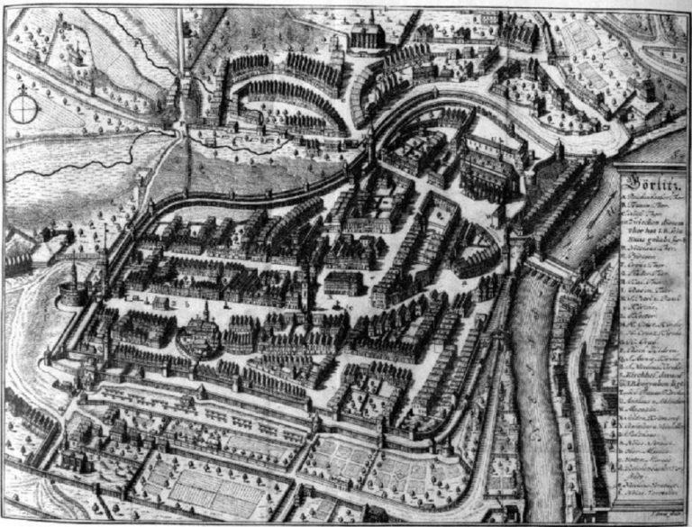 Город Гёрлиц. Ок. 1600