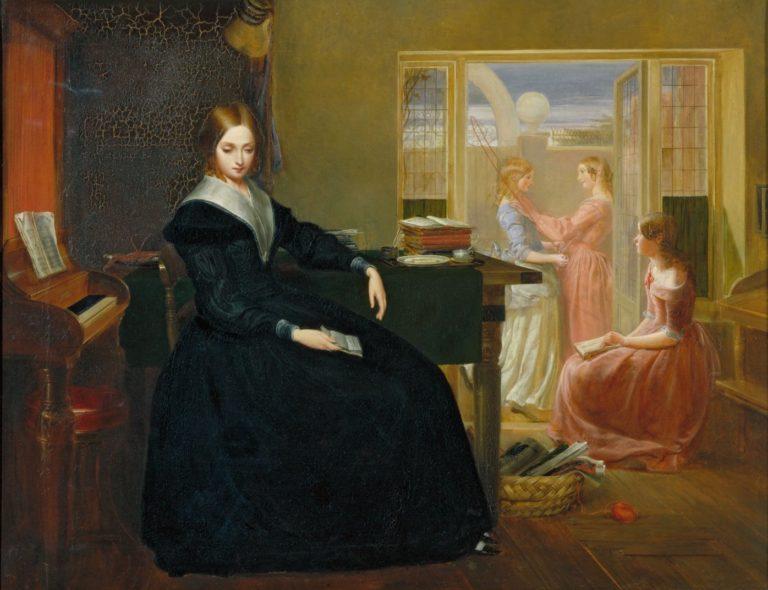 Гувернантка. 1844