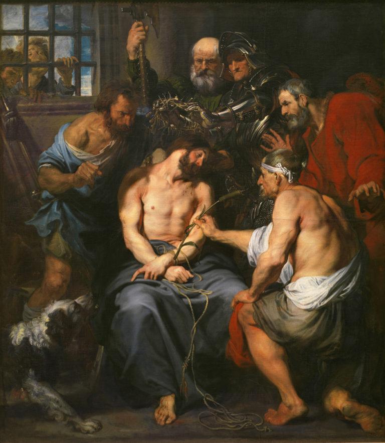 Христос, коронованный терновым венцом. Ок. 1620