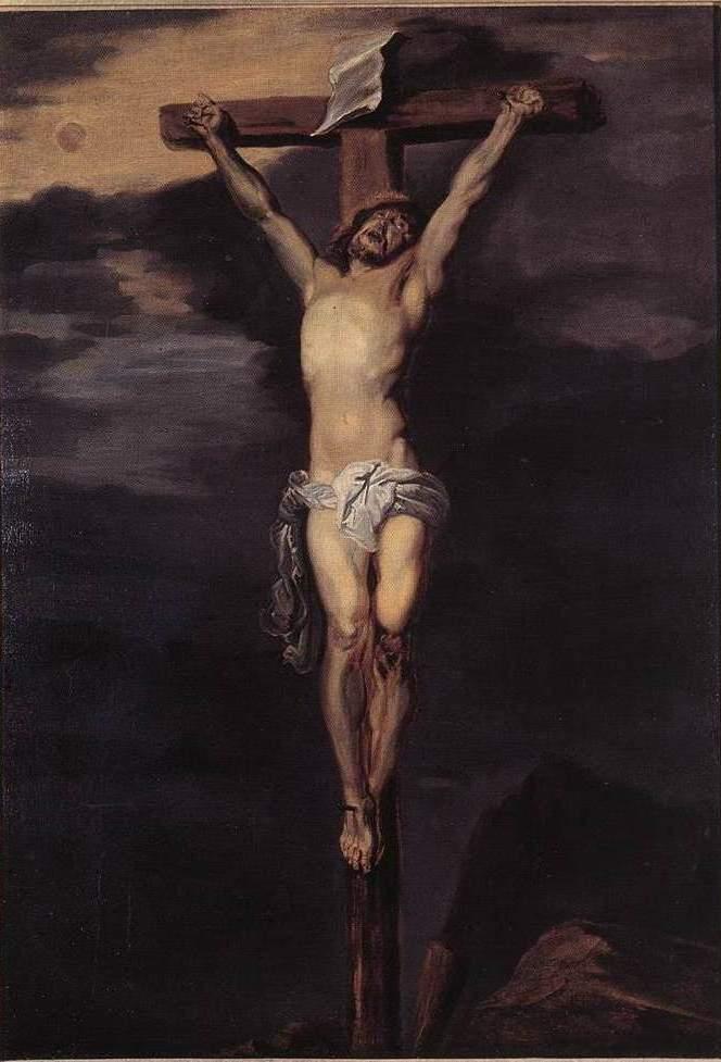 Христос на кресте. 1-я половина XVII в.