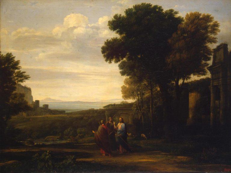 Христос на пути в Эммаус. 1660