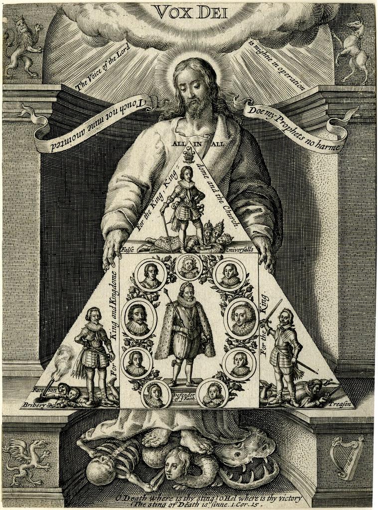 Христос попирает Смерть, Грех и Сатану. 1623