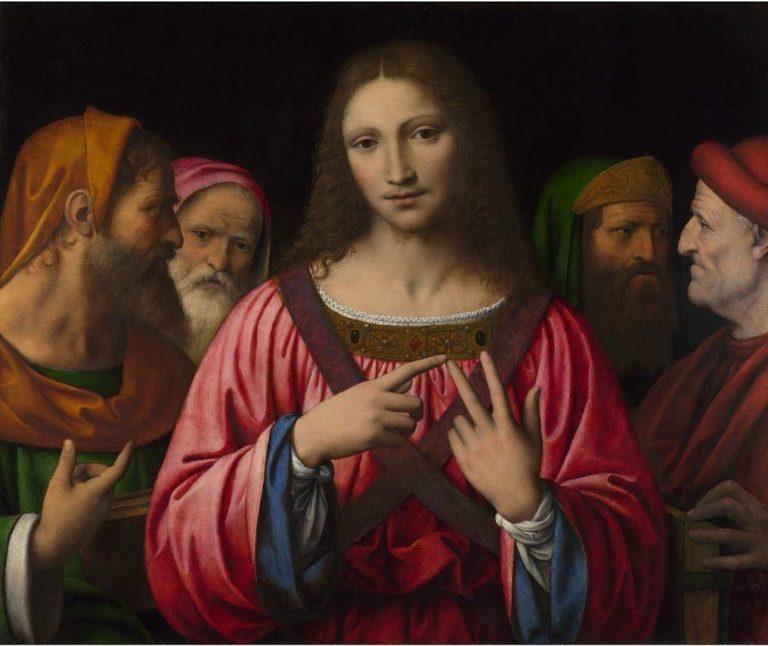 Христос среди книжников. 1515