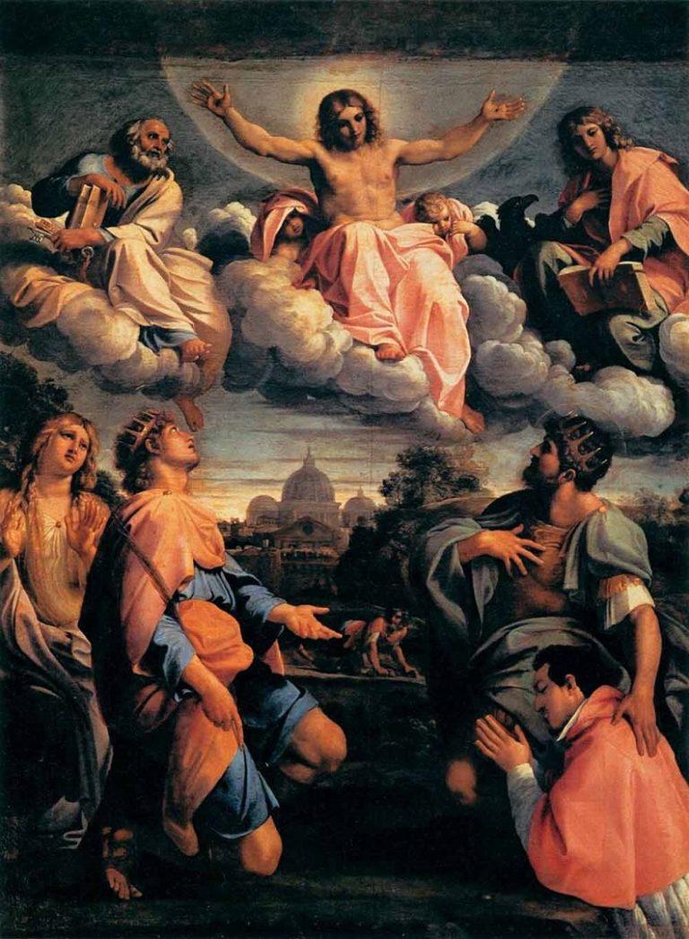 Христос во славе. 1597-1598