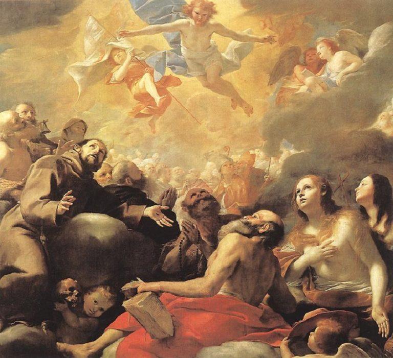 Христос во славе. Ок. 1660