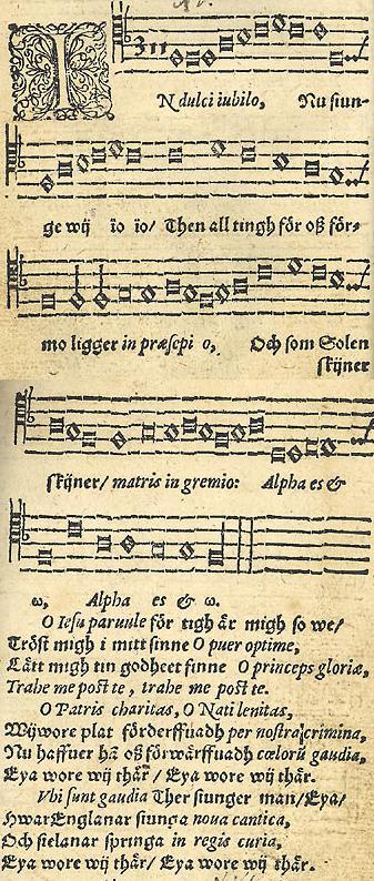 In Dulci Jubilo. 1582