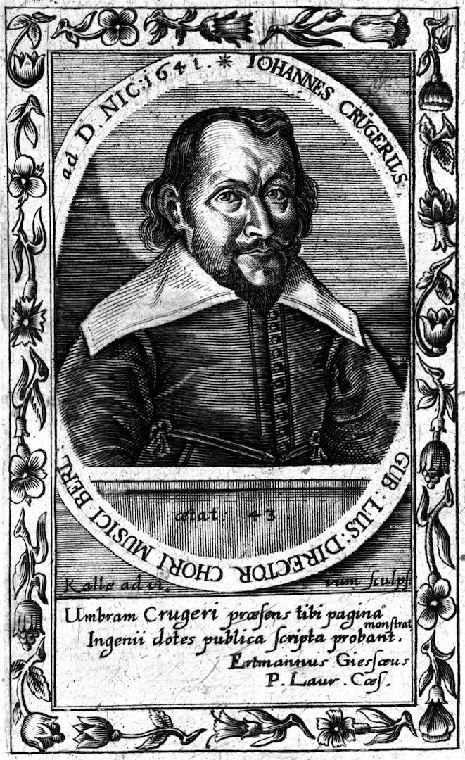 Иоганн Крюгер (нем. Johann Crüger, н.-луж. Jan Krygaŕ, 1598 — 1662). 1641