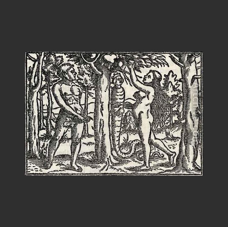 Искушение Адама и Евы. 1531
