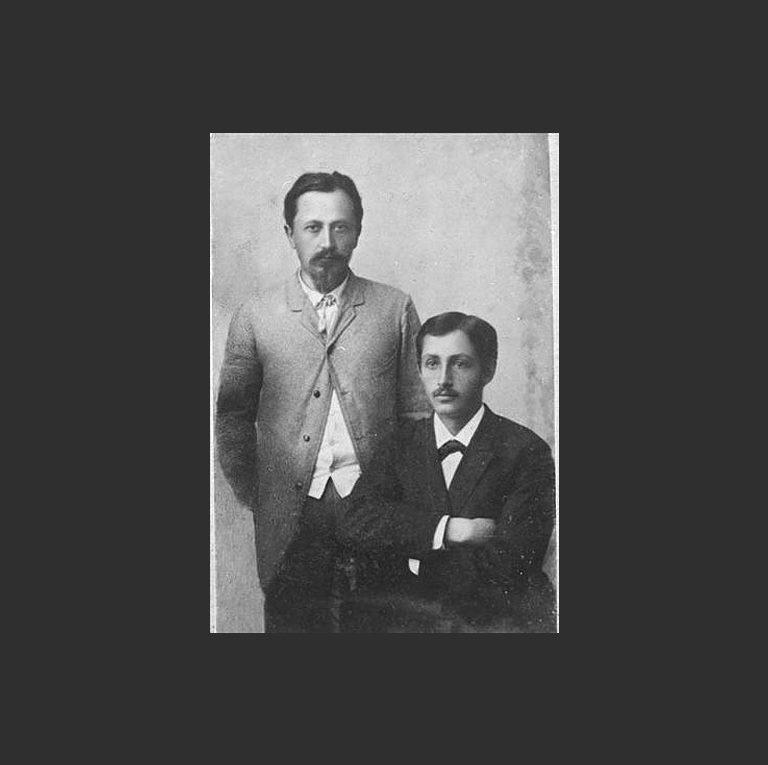 Иван Бунин со старшим братом Юлием (1857—1921)