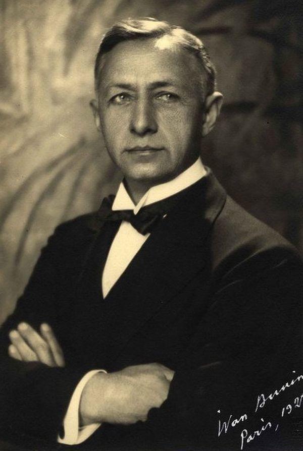 Иван Бунин в 1928 году