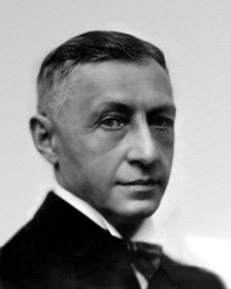 Иван Бунин в 1933 году