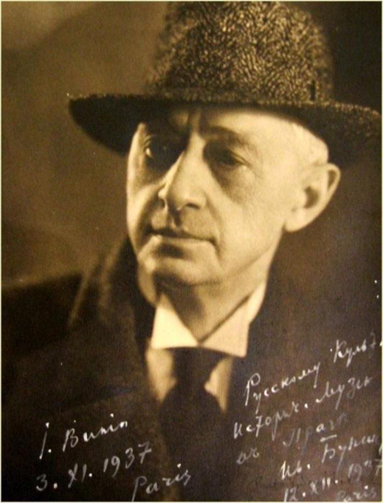 Иван Бунин в 1937 году