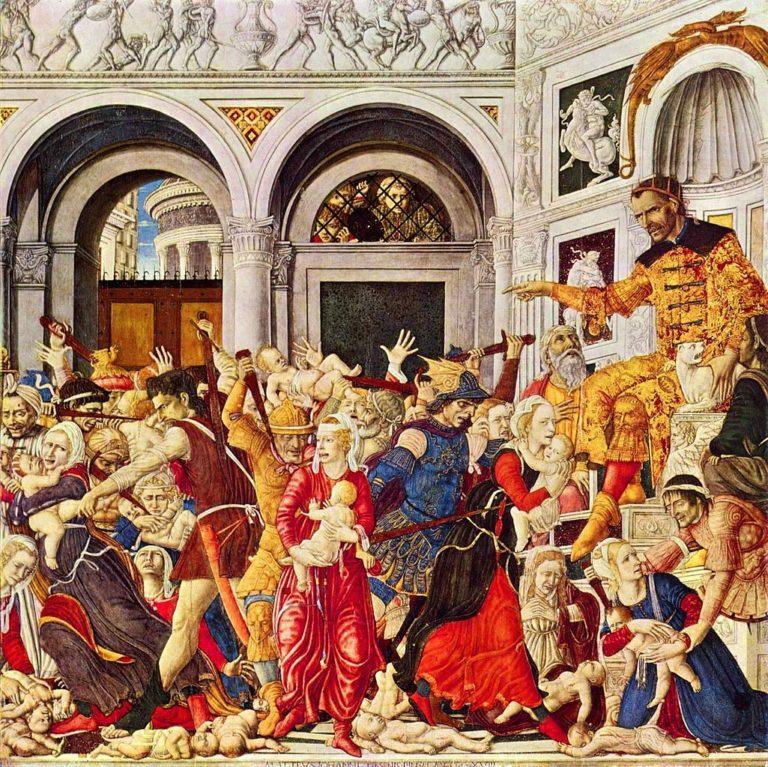 Избиение младенцев. 1488