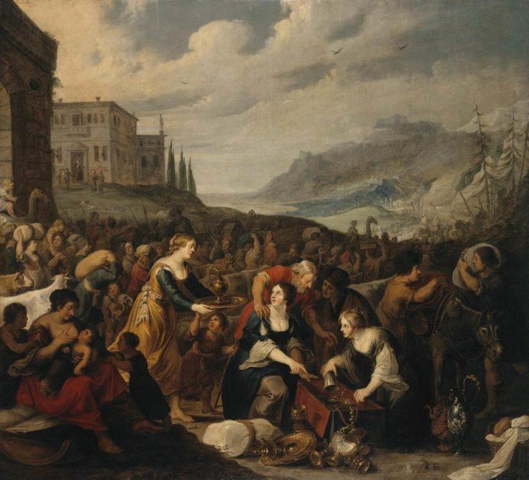 Израильтяне после перехода через Красное море. 1620-е