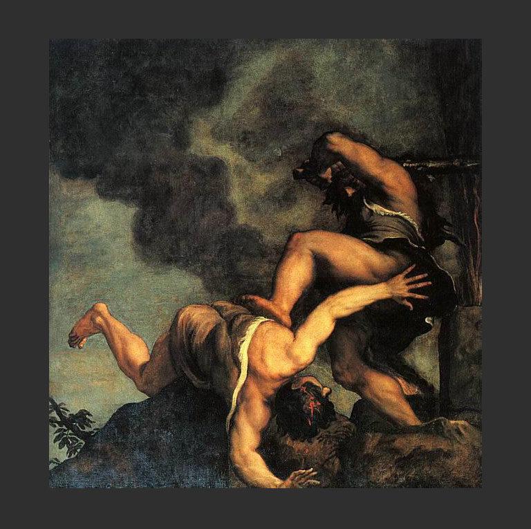 Каин и Авель. 1570—1576