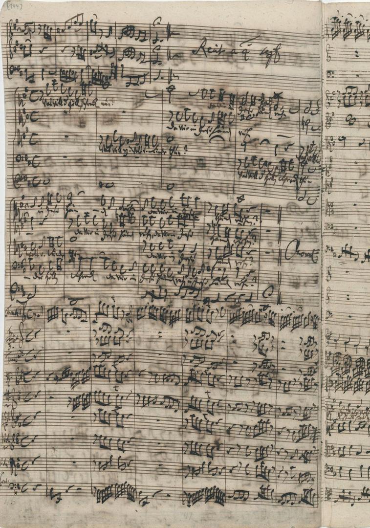 Кантата BWV 248/1. Заключительный хорал