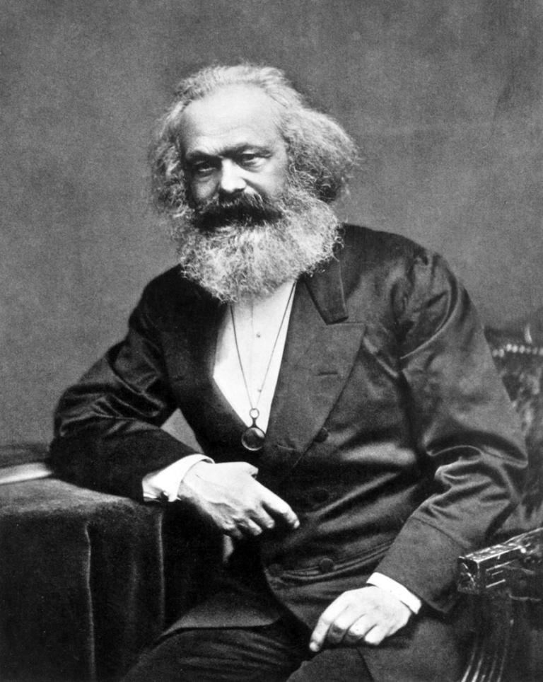 Карл Маркс (нем. Karl Heinrich Marx, 1818—1883) в 1875 году