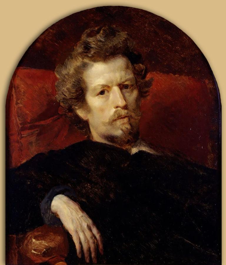 Карл Павлович Брюллов (1799 — 1852). 1848. Автопортрет