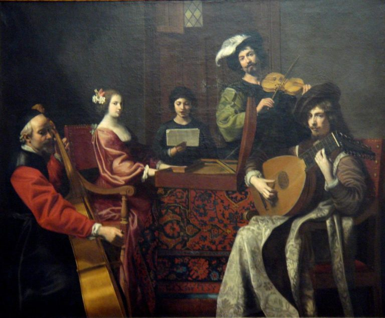 Концерт. 1630-1635